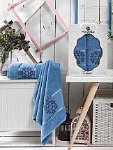 Комплект полотенец ТомДом Мифио (голубой) полотенца karna комплект полотенец детский karna bambino train 50 70 70 120 голубой