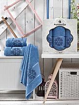 Комплект полотенец ТомДом Лефори (голубой) полотенца karna комплект полотенец детский karna bambino train 50 70 70 120 голубой