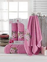 Комплект полотенец ТомДом Воданта (светло-лиловый) полотенца soavita полотенце chloe цвет светло лиловый 30х70 см 3 шт