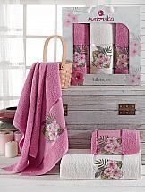 Комплект полотенец ТомДом Атисия (светло-лиловый) полотенца soavita полотенце chloe цвет светло лиловый 30х70 см 3 шт