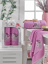 Комплект полотенец ТомДом Сванея (светло-лиловый) полотенца soavita полотенце chloe цвет светло лиловый 30х70 см 3 шт