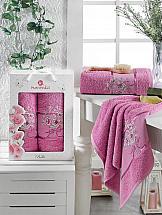 Комплект полотенец ТомДом Гвендор (светло-лиловый) полотенца soavita полотенце chloe цвет светло лиловый 30х70 см 3 шт
