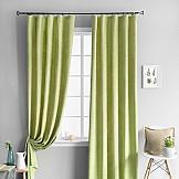 Комплект штор ТомДом Тина Зеленый комплект штор тд текстиль алькор на ленте цвет зеленый высота 270 см 98766
