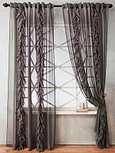 Комплект штор ТомДом Венсит (серый)