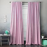 Комплект штор ТомДом Погея (розовый) комплект штор томдом глоранс