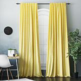 Комплект штор ТомДом Погея (желтый) штора garden на ленте цвет желтый высота 170 см с w875 v8