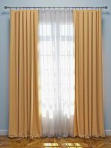 Фото - Комплект штор ТомДом Эмитея (бежевый) мочалка банные штучки королевский пилинг рукавица 41291 светло бежевый 14 5 х 25 см