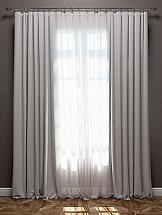 Комплект штор ТомДом Эмитея (светло-серый)