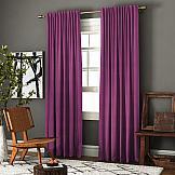 Комплект штор ТомДом Ибица (фиолетовый) комплект штор для кухни kauffort натура на ленте 2 портьеры 136 x 175 см 2 подхвата