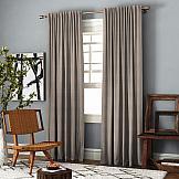 Комплект штор ТомДом Ибица (бежево-коричневый) цены онлайн