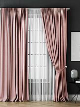 цена на Комплект штор ТомДом Каспиан (розовый)