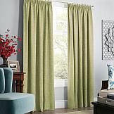 Комплект штор ТомДом Софт (зеленый) комплект штор тд текстиль алькор на ленте цвет зеленый высота 270 см 98766