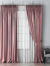 цена на Комплект штор ТомДом Шанти (розовый)