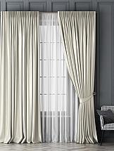 Комплект штор ТомДом Шанти (белый) комплект штор aliena на ленте цвет белый высота 220 см