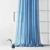 Тюль ТомДом Рохо (синий) тюль томдом рохо лавандовый