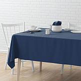 Скатерть ТомДом Биварс круглая (синяя) скатерть les gobelins jeune verdure круглая диаметр 160 см