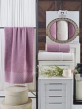Комплект полотенец ТомДом Номор (лиловый) цены
