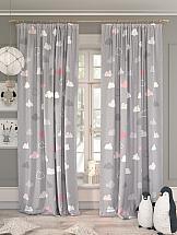 Комплект штор ТомДом Клуди (розовый) шторы для комнаты tomdom комплект штор агно розовый 260 см
