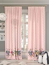 Комплект штор ТомДом Миарис (розовый) фотошторы сирень чайные поля фшст001 13543 розовый 260 х 150 см 2 шт