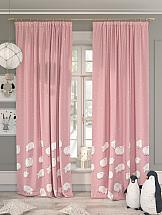 Комплект штор ТомДом Шипли (розовый) шторы для комнаты tomdom комплект штор агно розовый 260 см