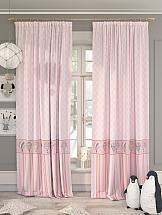 Комплект штор ТомДом Ронтик (розовый) фотошторы сирень чайные поля фшст001 13543 розовый 260 х 150 см 2 шт