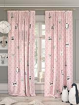 Комплект штор ТомДом Милори (розовый) шторы для комнаты tomdom комплект штор агно розовый 260 см