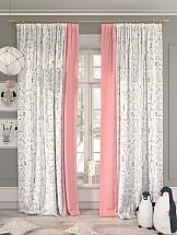 Комплект штор ТомДом Орикат (розовый) шторы для комнаты tomdom комплект штор агно розовый 260 см