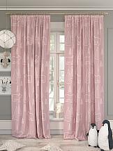 Комплект штор ТомДом Умкали (розовый) шторы для комнаты tomdom комплект штор агно розовый 260 см