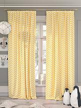 Комплект штор ТомДом Бриксон (желтый)