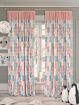 Комплект штор ТомДом Робион (розовый) шторы для комнаты tomdom комплект штор агно розовый 260 см