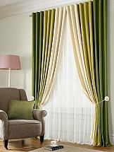 Комплект штор ТомДом Бриол (зеленый) цены