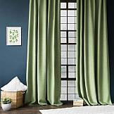 Комплект штор ТомДом Джерри (зеленый) комплект штор томдом этельн зеленый
