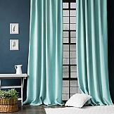 Комплект штор ТомДом Джерри (голубой) комплект штор zlata korunka ажур голубой на ленте 2 шторы 147 х 267 см тюль 294 х 267 см