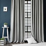 Комплект штор ТомДом Конни (серый)