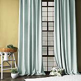 Комплект штор ТомДом Конни (голубой) комплект штор zlata korunka ажур голубой на ленте 2 шторы 147 х 267 см тюль 294 х 267 см