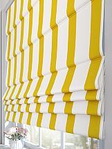 Римская штора ТомДом Рионсис (желтый) штора garden на ленте цвет желтый высота 170 см с w875 v8