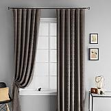 Комплект штор ТомДом Мемфис (коричневый)