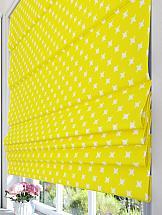 Римская штора ТомДом Делотрис (желтый) штора garden на ленте цвет желтый высота 170 см с w875 v8