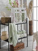 Комплект полотенец ТомДом Меслея (светло-зеленый) цена и фото