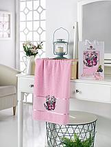 Полотенце ТомДом Лавмия (светло-розовый)