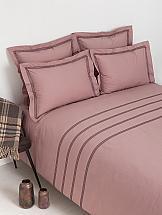 цена на Постельное белье ТомДом Актенци (карминово-розовый)