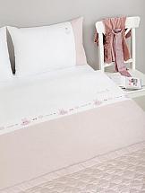 цена Постельное белье ТомДом Сивилф (жемчужно-розовый) онлайн в 2017 году
