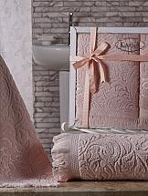 Комплект полотенец ТомДом Эсра (абрикосовый)