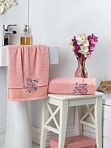 Комплект полотенец ТомДом Миранса (пудра) комплект полотенец томдом гермея пудра