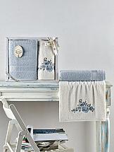 Комплект полотенец ТомДом Диэнви (светло-голубой)