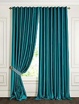 Комплект штор ТомДом Элести (морская волна) шторы для комнаты blackout комплект штор блэкаут софт b531 2 морская волна 200 270 см