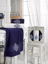Комплект полотенец ТомДом Дидворд (синий)