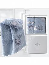 Комплект полотенец ТомДом Римпирт (голубой) комплект полотенец томдом бушфил голубой