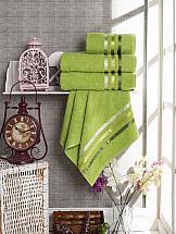 Комплект полотенец ТомДом Селами (зеленый)
