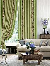 Комплект штор ТомДом Куфон (зеленый) комплект штор haft цвет стальной высота 250 см 28890 250